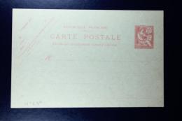 France: Carte Postal Mouchon 10 C.  Type D1 2x  Date 329 + 334 - Biglietto Postale