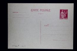 France: Carte Postale  Paix  1 Fr   Type  G1a Sans Date - Cartoline Postali E Su Commissione Privata TSC (ante 1995)