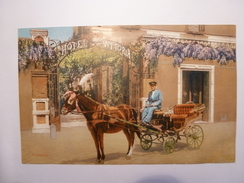 Sorrento, Grand Hotel Vittoria,  Edit: De Luca Antonio, Sorrento, Carte Postale Ancienne 1900-1920. - Napoli (Naples)