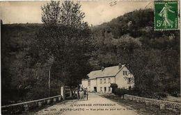 CPA L'Auvergne Pittoresque BOURG-LASTIC Vue Prise Du Pont Sur Chavanon (407747) - Unclassified
