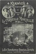 Ref R956- Spectacle -4 Kerwich 4- Champions Du Monde De La Corbeille Mortelle -squelettes -skeletons -bicyclette - - Zonder Classificatie