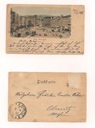 AK Linz A.d.Donau - Franz Josef-Platz - 26.4.1899 - Echt Gelaufen - Linz