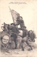 Chasseurs Alpins -  Armée Française Les Diables Noirs - écrite TTB - Regiments