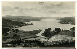LAKE DISTRICT : WINDERMERE LAKE FROM TOP OF LOUGHRIGG (ABRAHAM'S SERIES) - Cumberland/ Westmorland