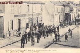 VITRY-AUX-LOGES DEFILE DE LA SOCIETE DE MUSIQUE ET DES POMPIERS FANFARE CAFE 45 LOIRET - France