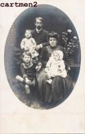 CARTE PHOTO : SANDILLON COUPLE ET LEURS ENFANTS 45 LOIRET - France