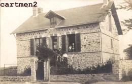 CARTE PHOTO : SANDILLON UNE VILLA CHALET FAMILLE P. MABILEAU DELOUZY 45 LOIRET - France