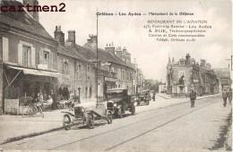 ORLEANS LES AYDES RESTAURANT DE L'AVIATION A. ELIE JUDAÏCA JEWISH MONUMENT DE LA DEFENSE 45 LOIRET - Orleans