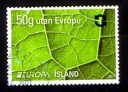 Europe Europa Island, Used, Stamp, Flora, Botany. - Europe (Other)
