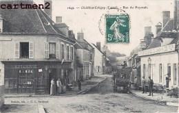 CHATILLON-COLIGNY RUE DU PUYRAULT DEVANTURE EPICERIE TABAC HOTEL LOIRET 45 - Chatillon Coligny