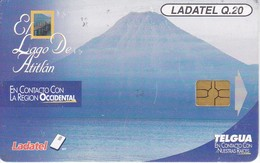 TARJETA DE GUATEMALA DE EL LAGO ATITLAN (VOLCAN) - Guatemala