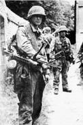 """Militaria WW2  - Grenadiers Du 12° SS Panzerregiment """"Hitlerjugend"""" à Carpiquet - 1939-45"""