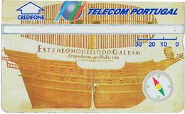 PHONECARDS-- PORTUGAL-- TELECOM PORTUGAL--OPTICAL-30U-DESCOBRIMENTOS--BATCH 230B - Portugal
