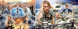 Centrafrica 2013, Chess Players, Bobby Fischer, 4val In BF +BF - Schaken