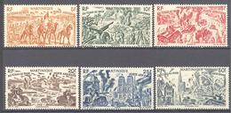 Martinique: Yvert N° A 7/12*; - Airmail