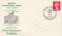 1970 GB HEALTH EXHIBITION COVER Illus NUNEATON Congrecational CHURCH  Religion Medicine - Medicine