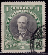 Chile, 1910, Anibal Pinto, 1p, Scott# 109, Used - Chile