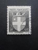 FRANCE Armoirie De Chambéry N°553 Oblitéré - 1941-66 Coat Of Arms And Heraldry