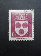 FRANCE Armoirie De Grenoble N°557 Oblitéré - 1941-66 Coat Of Arms And Heraldry