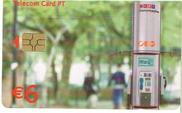 PHONECARDS-- PORTUGAL-CHIP--6€- LIGUE MAIAS AOS SEUS - Portugal