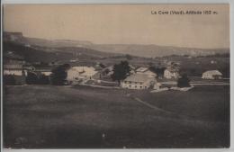 La Cure (Vaud) Alt. 1152 M - Vue Generale - Photo: J.E. Berlie - VD Vaud