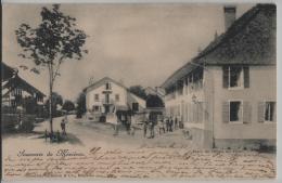 Souvenir De Mezieres - Place De L'Hotel De Ville - VD Vaud