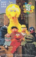 Télécarte Japon / 110-011 - Comics - 1 RUE SESAME STREET / Television TV  - Japan Phonecard - NFS 48 - BD