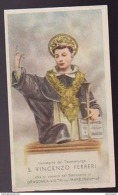SANTINO S. VINCENZO FERRERI  DRAGONEA VIETRI SUL MARE (SALERNO) HOLYCARD - Santini