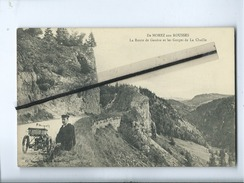 CPA - De Morez Aux Rousses - La Route De Genève Et Les Gorges De La Chaille - Frankrijk