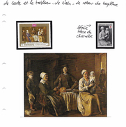 La Carte Et Le Tableau - Le Nain - Le Retour Du Baptême - Art