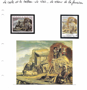La Carte Et Le Tableau - Le Nain - Le Retour De La Fenaison - Art
