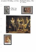 La Carte Et Le Tableau - Le Nain - Famille De Paysans Dans Un Intérieur - Art