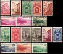 MONACO 169 à 183  ( Sauf 175A 179 181 )  1939:41 - Ongebruikt