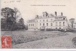 94 PLESSIS TREVISE Le Beau CHATEAU De La LANDE  Dans Son PARC Timbre 1908 - Le Plessis Trevise