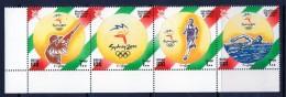 2000 Oman Olympics Strip Of Complete  MNH - Oman