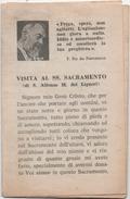 Santino Pieghevole In 6 Facciate Di Padre Pio Da Pietrelcina (Benevento) - Santini