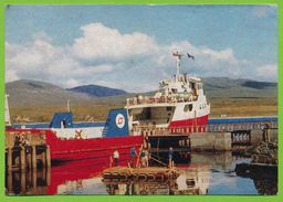 Western Ferries Limited's T.S.S. Sound Of Islay Lying At Port Askaig Islay 1972 - Argyllshire