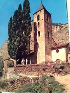 Andorre IGLESIA DE CANILLO, STAMP 1967, Croix Gotique Meritxell, 0,50 Fr  VB1972 GC13598 - Andorra