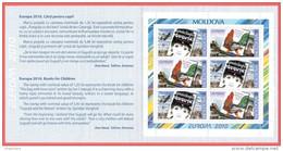"Moldova 2010 ""Europa-CEPT 2010"" ""Children's Books"" Booklet Quality:100% - Europa-CEPT"