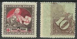 LATVIA Lettland 1921 Michel 65 Z * - Lettonia
