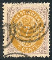Sc.9, 1874 7c. Used, VF Quality!