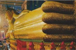 Reclining Buddha At Wat Po Bangkok Thailand.  S-3234 - Buddhism
