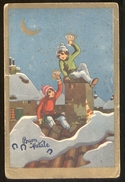 BUON NATALE - CHILDREN - BAMBINI - ENFANTS - KINDER - VIAGGIATA IN BUSTA  NEL 1936  (8) - Natale