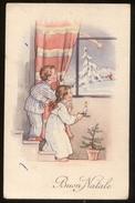 BUON NATALE - CHILDREN - BAMBINI - ENFANTS - KINDER - VIAGGIATA   ANNI 40  (10) - Natale