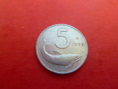 Italie 5 Lire 1953 - 5 Lire