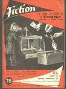 FICTION N° 26 Janvier  1956 Revue Littéraire De L'étrange Fantastique Et Science Fiction -  J D CARR, Ray BRADBURY Etc - Altri
