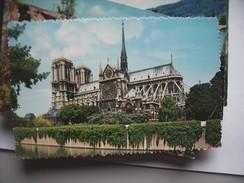 Frankrijk France Frankreich Parijs Paris Notre Dame  Et Seine BelleVue - Notre-Dame De Paris