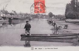 DIJON - Le Port Du Canal - Dijon
