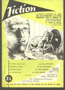 FICTION N° 24 Novembre 1955 Revue Littéraire De L'étrange Fantastique Et Science Fiction -  J ANTHONY, J NOVOTNY Etc - Boeken, Tijdschriften, Stripverhalen