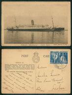 BARCOS SHIP BATEAU PAQUEBOT STEAMER [BARCOS #01751] - RMA ALMANZORA SOUTH AMERICAN SERVICE - Steamers